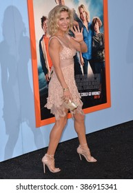 """LOS ANGELES, CA - JULY 27, 2015: Elsa Pataky at the premiere of """"Vacation"""" at the Regency Village Theatre, Westwood."""