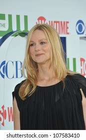 LOS ANGELES, CA - JULY 28, 2010: Laura Linney at CBS TV Summer Press Tour Party in Beverly Hills.