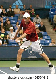 LOS ANGELES, CA. - JULY 30: Chris Guccione (pictured) vs. Mardy Fish at the L.A. Tennis Open July 30, 2009 in Los Angeles