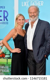 "LOS ANGELES, CA - July 31, 2018: Kelsey Grammer & Kayte Walsh at the Los Angeles premiere of ""Like Father"" at the Arclight Theatre"