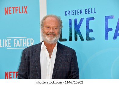 "LOS ANGELES, CA - July 31, 2018: Kelsey Grammer at the Los Angeles premiere of ""Like Father"" at the Arclight Theatre"