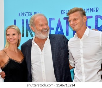"LOS ANGELES, CA - July 31, 2018: Kelsey Grammer, Kayte Walsh & Phil Walsh at the Los Angeles premiere of ""Like Father"" at the Arclight Theatre"