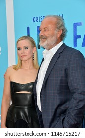 "LOS ANGELES, CA - July 31, 2018: Kristen Bell & Kelsey Grammer at the Los Angeles premiere of ""Like Father"" at the Arclight Theatre"