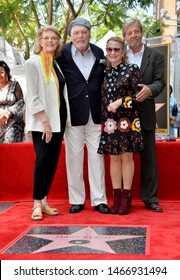 LOS ANGELES, CA. July 31, 2019: Samantha Eggar, Stacy Keach & Juliet Mills  at the Hollywood Walk of Fame Star Ceremony honoring Stacy Keach.Pictures: Paul Smith/Featureflash