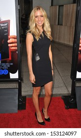 "LOS ANGELES, CA - JULY 31, 2013: Kristin Cavallari at the Los Angeles premiere for the HBO film ""Clear History"" at the Cinerama Dome, Hollywood."