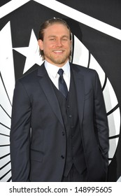 LOS ANGELES, CA - JULY 9, 2013: Charlie Hunnam at the premiere of his new movie Pacific Rim at the Dolby Theatre, Hollywood.