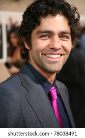 LOS ANGELES, CA - JULY 9: Entourage cast member, Adrian Grenier shows up to the sixth season premiere on the Paramount Pictures lot in Los Angeles, CA on July 9, 2009.