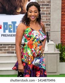 """Los Angeles, CA - June 02, 2019: Tiffany Haddish attends the Premiere Of Universal Pictures' """"The Secret Life Of Pets 2"""" held at Regency Village Theatre"""