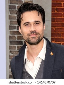 "Los Angeles, CA - June 02, 2019: Brett Dalton attends the Premiere Of Universal Pictures' ""The Secret Life Of Pets 2"" held at Regency Village Theatre"
