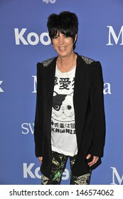 LOS ANGELES, CA - JUNE 12, 2013: Diane Warren at the Women in Film 2013 Crystal + Lucy Awards at the Beverly Hilton Hotel.