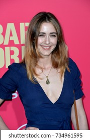 "LOS ANGELES, CA - June 14, 2017: Madeline Zima at the Los Angeles premiere for ""Baby Driver"" at the Ace Hotel Downtown."