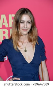 "LOS ANGELES, CA. June 14, 2017: Madeline Zima at the Los Angeles premiere for ""Baby Driver"" at the Ace Hotel Downtown."
