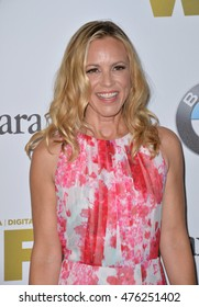 LOS ANGELES, CA. June 15, 2016: Actress Maria Bello at the Women in Film 2016 Crystal + Lucy Awards at the Beverly Hilton Hotel.