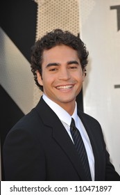 """LOS ANGELES, CA - JUNE 22, 2009: Ramon Rodriguez at the Los Angeles premiere of his new movie """"Transformers: Revenge of the Fallen"""" at the Mann Village Theatre, Westwood."""