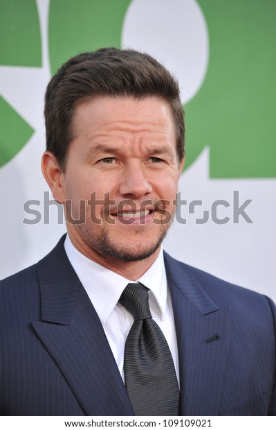 "LOS ANGELES, CA - JUNE 22, 2012: Mark Wahlberg at the world premiere of his movie ""Ted"" at Grauman's Chinese Theatre, Hollywood."