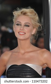 "LOS ANGELES, CA - JUNE 23, 2009: Amber Heard at the Los Angeles premiere of ""Public Enemies"" at Mann Village Theatre, Westwood."