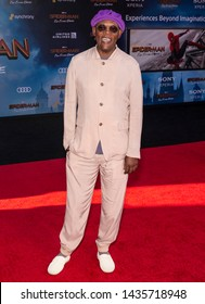 "Los Angeles, CA - June 26, 2019: Samuel L. Jackson attends the premiere of Sony Pictures ""Spider-Man Far From Home"" held at TCL Chinese Theatre"