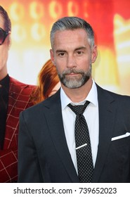 "LOS ANGELES, CA. June 26, 2017: Jay Harrington at the Los Angeles premiere for ""The House"" at the TCL Chinese Theatre"