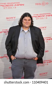 "LOS ANGELES, CA - JUNE 29, 2012: Michael Barra at the world premiere of his movie ""The Amazing Spider-Man"" at Regency Village Theatre, Westwood."