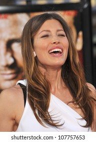 """LOS ANGELES, CA - JUNE 3, 2010: Jessica Biel at the Los Angeles premiere of her new movie """"The A-Team"""" at Grauman's Chinese Theatre, Hollywood."""