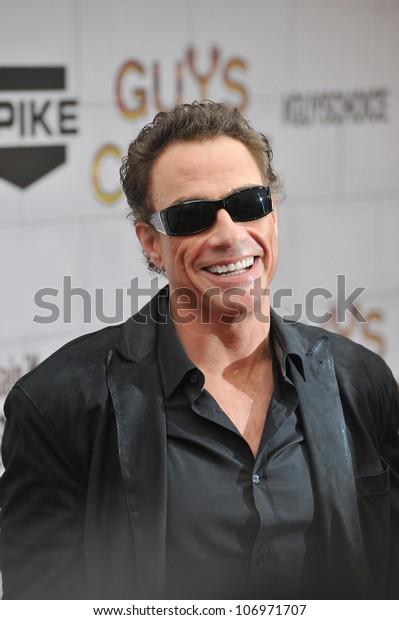 LOS ANGELES, CA - JUNE 3, 2012: Jean-Claude Van Damme at Spike TV's 2012 Guys Choice Awards  at Sony Studios, Culver City, CA.