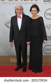 LOS ANGELES, CA - JUNE 5, 2014: Sam Waterston at the 2014 American Film Institute's Life Achievement Awards honoring Jane Fonda, at the Dolby Theatre, Hollywood.
