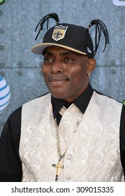 LOS ANGELES, CA - JUNE 7, 2015: Coolio at Spike TV's 2015 Guys Choice Awards at Sony Studios, Culver City.