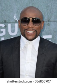 LOS ANGELES, CA - JUNE 7, 2015: Boxer Floyd Mayweather at Spike TV's 2015 Guys Choice Awards at Sony Studios, Culver City.