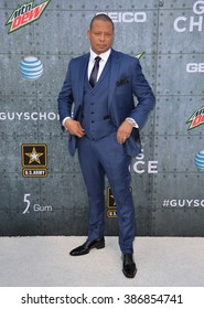 LOS ANGELES, CA - JUNE 7, 2015: Terrence Howard at Spike TV's 2015 Guys Choice Awards at Sony Studios, Culver City.