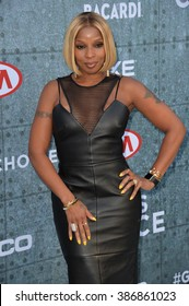 LOS ANGELES, CA - JUNE 7, 2015: Singer Mary J. Blige at Spike TV's 2015 Guys Choice Awards at Sony Studios, Culver City.