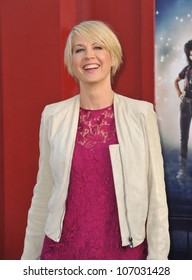 "LOS ANGELES, CA - JUNE 9, 2012: Jenna Elfman at the world premiere of ""Rock of Ages"" at Grauman's Chinese Theatre, Hollywood. June 9, 2012  Los Angeles, CA"