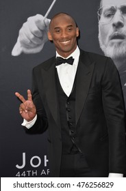 LOS ANGELES, CA. June 9, 2016: Basketball star Kobe Bryant at the 2016 American Film Institute Life Achievement Award gala honoring John Williams at the Dolby Theatre, Hollywood.