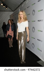 LOS ANGELES, CA - MAR 10: Candice Accola at The Paley Center For Media's PaleyFest 2012 honoring 'Vampire Diaries' at the Saban Theater on March 10, 2012 in Beverly Hills, California
