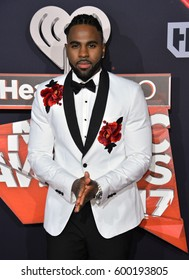 LOS ANGELES, CA. March 05, 2017: Jason Derulo at the 2017 iHeartRadio Music Awards at The Forum, Los Angeles.