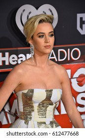 LOS ANGELES, CA. March 05, 2017: Katy Perry at the 2017 iHeartRadio Music Awards at The Forum, Los Angeles.