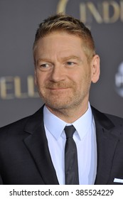 "LOS ANGELES, CA - MARCH 1, 2015: Director Kenneth Branagh at the world premiere of his movie ""Cinderella"" at the El Capitan Theatre, Hollywood."