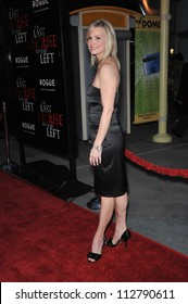 "LOS ANGELES, CA - MARCH 10, 2009: Monica Potter at the world premiere of her new movie ""The Last House on the Left"" at the Arclight Theatre, Hollywood."