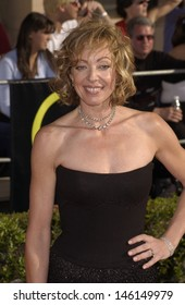 LOS ANGELES, CA - MARCH 10, 2002: Actress ALLISON JANNEY at the 8th Annual Screen Actors Guild Awards in Los Angeles.