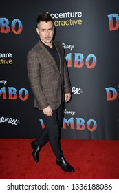 """LOS ANGELES, CA. March 11, 2019: Colin Farrell at the world premiere of """"Dumbo"""" at the El Capitan Theatre.Picture: Paul Smith/Featureflash"""