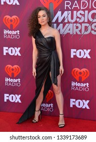 LOS ANGELES, CA. March 14, 2019: Jude Demorest at the 2019 iHeartRadio Music Awards at the Microsoft Theatre.