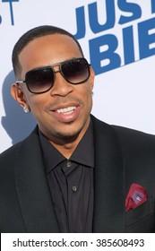 LOS ANGELES, CA - MARCH 14, 2015: Ludacris, aka Chris Bridges, at the Comedy Central Roast of Justin Bieber at Sony Studios, Culver City.