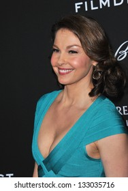 """LOS ANGELES, CA - MARCH 18, 2013: Ashley Judd at the Los Angeles premiere of """"Olympus Has Fallen"""" at the Cinerama Dome, Hollywood."""
