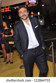 """LOS ANGELES, CA - MARCH 2, 2009: Jeffrey Dean Morgan at the US premiere of his new movie """"Watchmen"""" at Grauman's Chinese Theatre, Hollywood."""