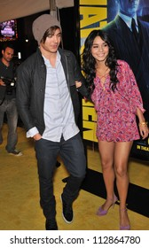 """LOS ANGELES, CA - MARCH 2, 2009: Vanessa Hudgens & Zac Efron at the US premiere of """"Watchmen"""" at Grauman's Chinese Theatre, Hollywood."""
