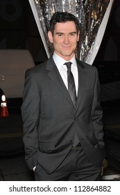 """LOS ANGELES, CA - MARCH 2, 2009: Billy Crudup at the US premiere of his new movie """"Watchmen"""" at Grauman's Chinese Theatre, Hollywood."""