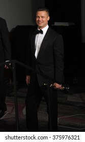 LOS ANGELES, CA - MARCH 2, 2014: Brad Pitt at the 86th Annual Academy Awards at the Dolby Theatre, Hollywood.