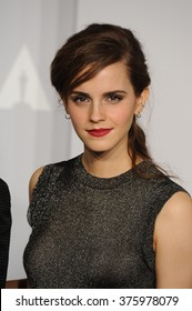 LOS ANGELES, CA - MARCH 2, 2014: Emma Watson at the 86th Annual Academy Awards at the Dolby Theatre, Hollywood.