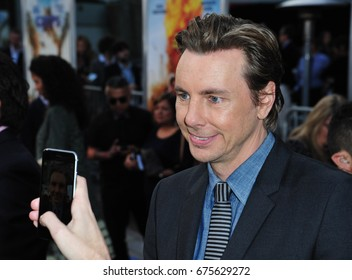 "LOS ANGELES, CA - MARCH 20, 2017: Dax Shepard at the premiere for ""CHiPS"" at the TCL Chinese Theatre, Hollywood. Los Angeles"