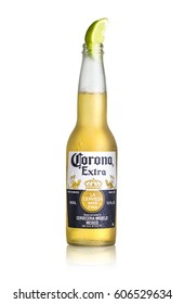 Los Angeles CA - March 22: Photo of a 12 ounce bottle of Corona Extra Beer. Corona is produced by Grupo Modelo with Anheuser Busch InBev.