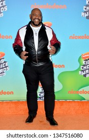 LOS ANGELES, CA. March 23, 2019: Bubba Ganter at Nickelodeon's Kids' Choice Awards 2019 at USC's Galen Center.Picture: Paul Smith/Featureflash
